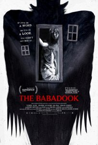 """Cartaz do filme de terror """"O Babadook"""""""
