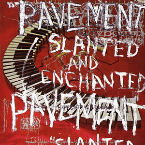 "Capa do álbum ""Slanted and Enchanted"", da banda Pavement"