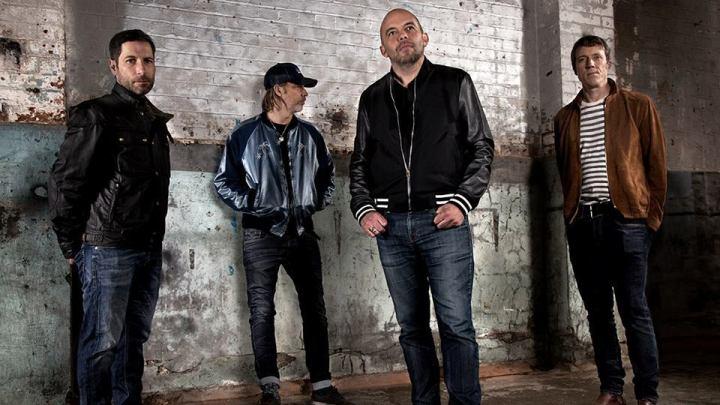 Foto da banda britânica Ride