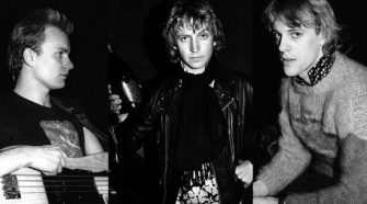 The Police, Sting, Copeland e Summers em foto de 1980