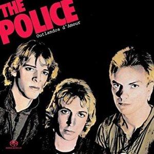 capa do álbum outlandos d'amour do the police