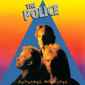"Capa do álbum ""Zenyattà Mondatta"", segundo da banda The Police"