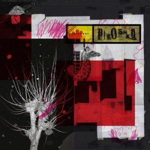 """Capa do álbum """"Brickbat"""", da banda Piroshka"""
