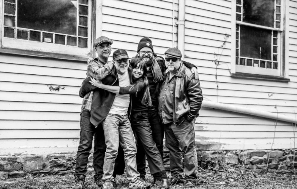 Pixies com o produtor Tom Dalgety