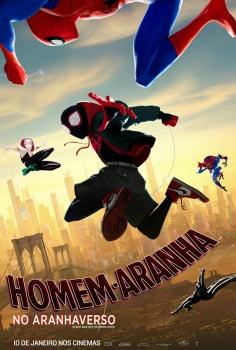 poster de homem-aranha, aranhaverso