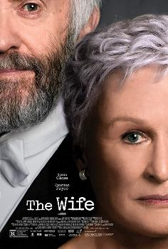 Poster do filme A Esposa (The Wife), com Glenn Close