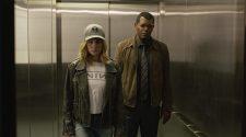 """Brie Larson e Samuel L. Jackson em cena do filme """"Capitã Marvel"""" (2019)"""