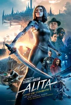 """Cartaz do filme """"Alita: Anjo de Combate"""""""