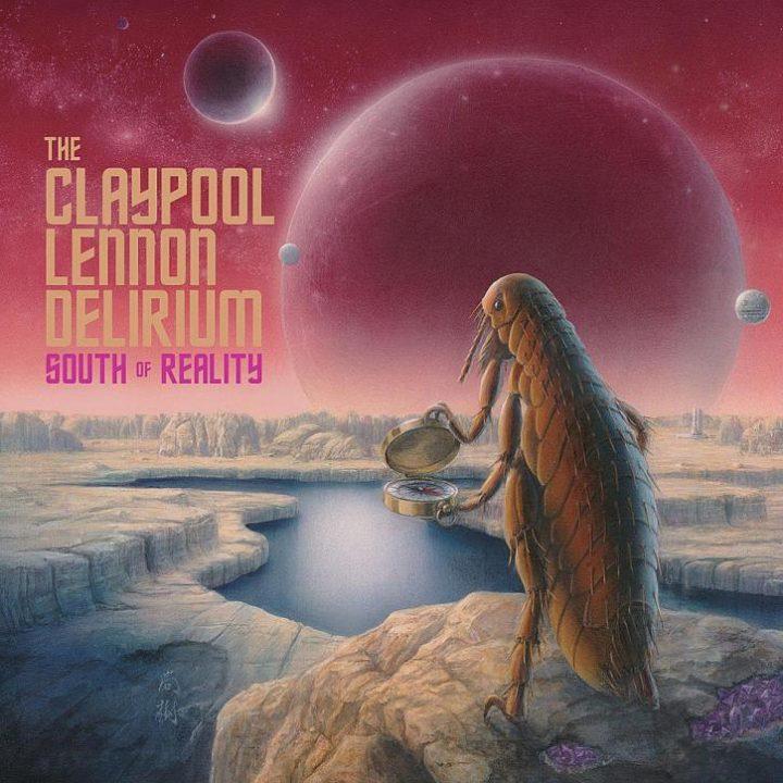 "Capa do álbum ""South of Reality"", do projeto The Claypool Lennon Delirium"