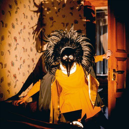 """Capa do álbum """"Strange Creatures"""", da banda Drenge"""