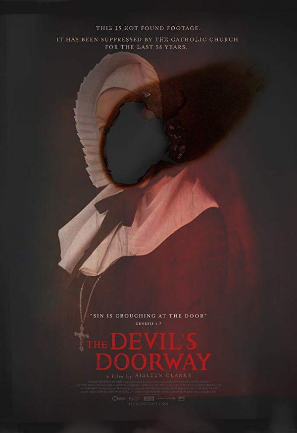 """Cartaz do filme """"A Maldição da Freira"""", The Devil's Doorway"""