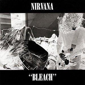 """Capa do álbum """"Bleach"""", do Nirvana"""