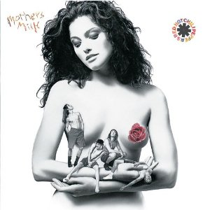 """Capa do álbum """"Mother's Milk"""", do RHCP"""
