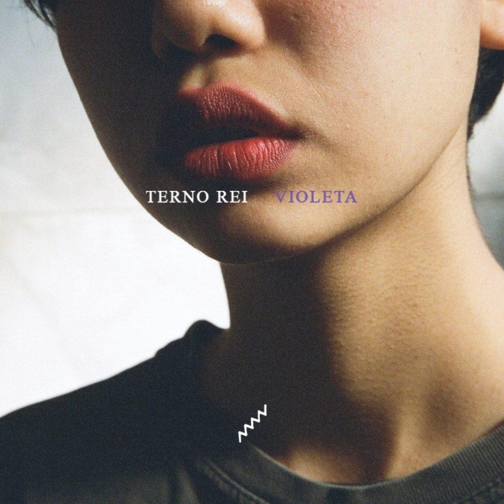"""Capa do álbum """"Violeta"""", da banda Terno rei"""