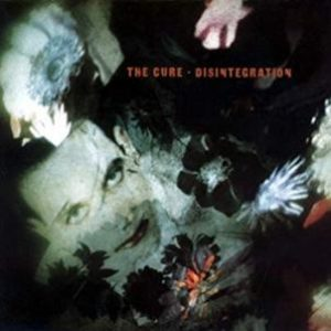 "Capa do álbum ""Disintegration"", do The Cure"