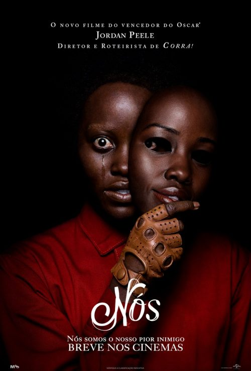"Cartaz do filme ""Nós"" (Us), de Jordan Peele"