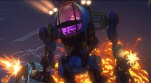 """Cena da série """"Love, Death & Robots"""", episódio """"Proteção Contra Alienígenas"""""""