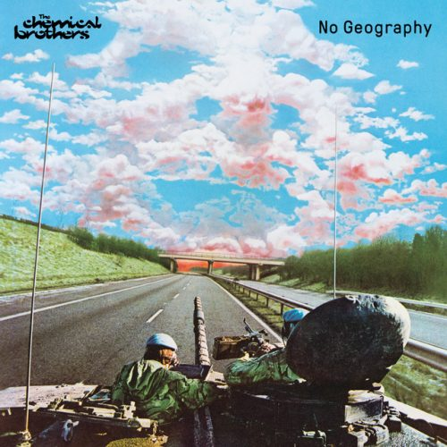 "Capa do álbum ""No Geography"", do duo The Chemical Brothers"