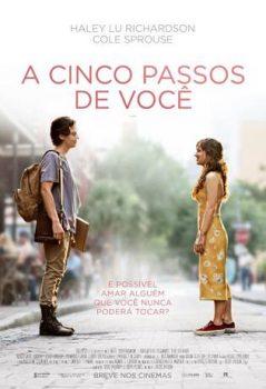 """Cartaz do filme """"A Cinco Passos de Você"""", de Justin Boldoni"""