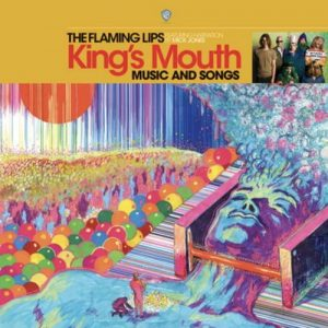 "Capa do álbum ""King's Mouth"", do Flaming Lips"