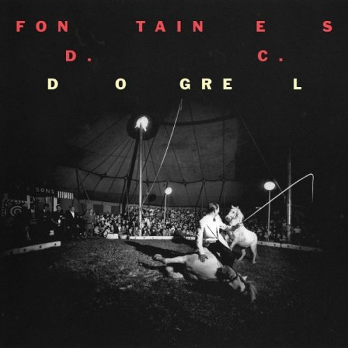 "Capa do álbum ""Dogrel"", da banda Fontaines D.C."