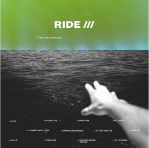 "Capa do álbum ""This is Not a Safe Place"", da banda Ride"