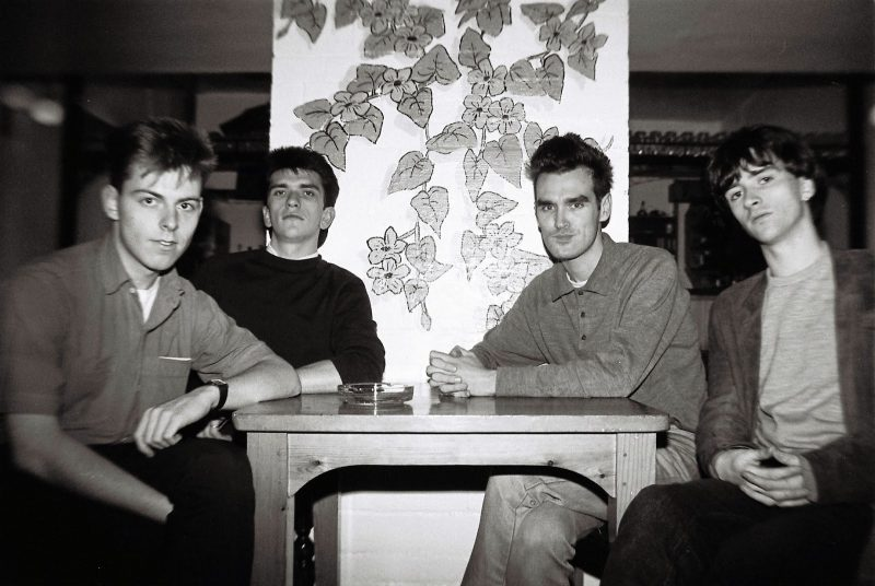 Foto da banda The Smiths para especial sobre as Troy Tate Sessions