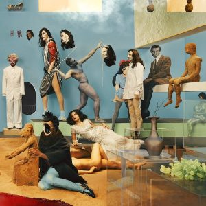 "Capa do álbum ""Amen & Goodbye"", da banda Yeasayer"