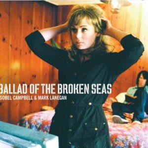 """Capa do álbum """"Ballad of the Broken Seas"""", de Isobel Campbell e Mark Lanegan"""