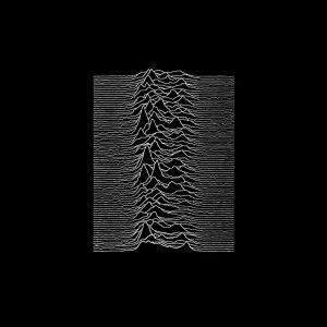 Capa do álbum Unknown Pleasues, do Joy Division