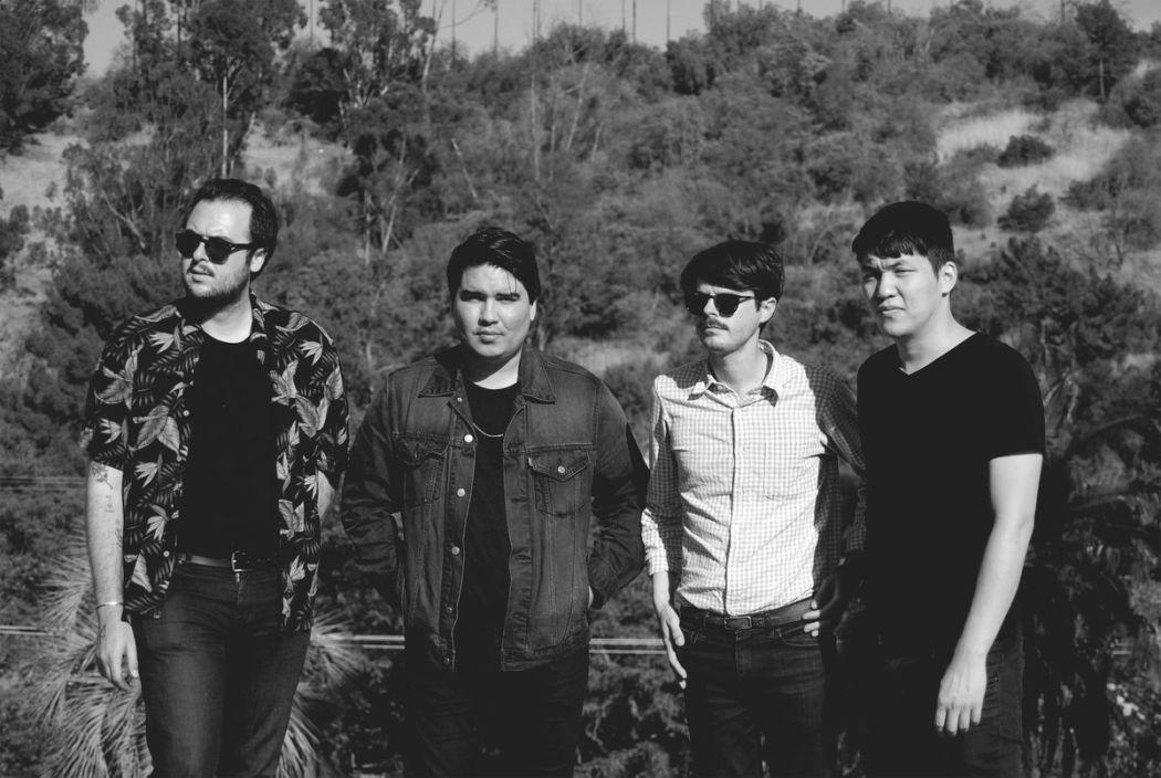 """Foto da banda californiana Cold Showers para resenha do álbum """"Motionless"""""""