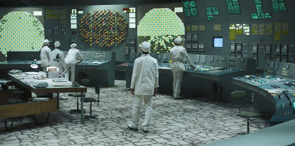 """Cena da minissérie """"Chernobyl"""", da HBO"""