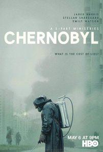 "Cartaz da minissérie ""Chernobyl"", da HBO"