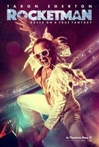 "Cartaz do filme ""Rocketman"", cinebiografia de Elton John"