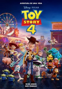 "Cartaz do flme ""Toy Story 4"""