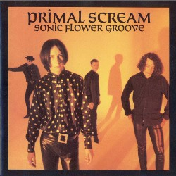 "Capa do álbum ""Sonic Flower Groove"" do Primal scream"