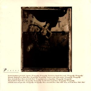 Capa do álbum Surfer Rosa, dos Pixies