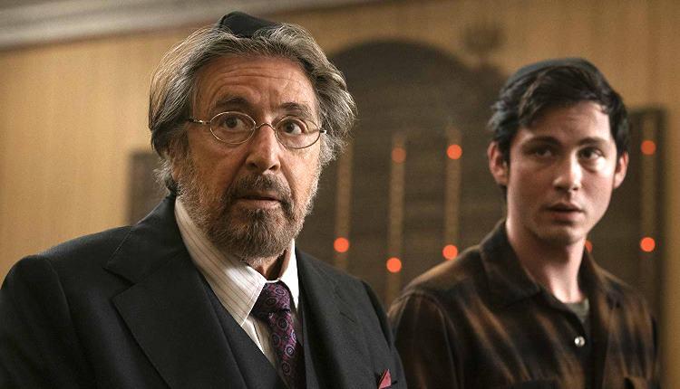 Al Pacino e Logan Lerman em cena de Hunters