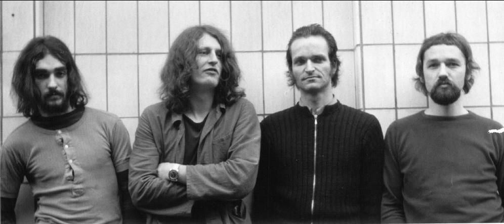 Foto do Kraftwerk com Klaus Dinger