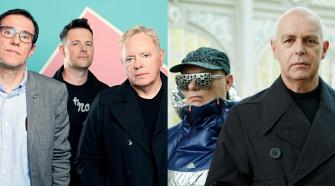 Foto Pet Shop Boys e New Order, para notícia da turnê