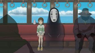 Cena do filme a Viagem de Chihiro para notícia de Melhores Animações do século 21