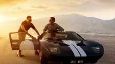 Ford VS Ferrari, cena com Christian Bale e Matt Damon