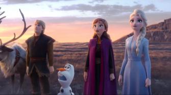 Cena do filme Frozen 2
