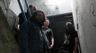 Foto da banda Glia para coluna Shegazer Alive #1