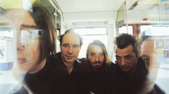 Foto da banda alemã Einstürzende Neubauten