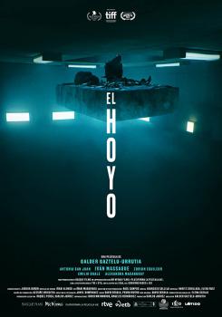 Cartaz do filme espanhol O Poço (EL Hoyo)