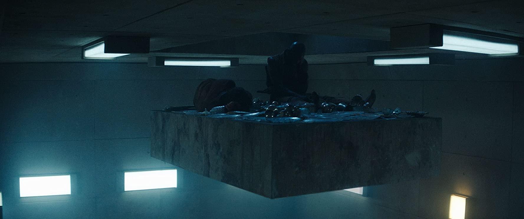 Cena do filme espanhol O Poço (el Hoyo)