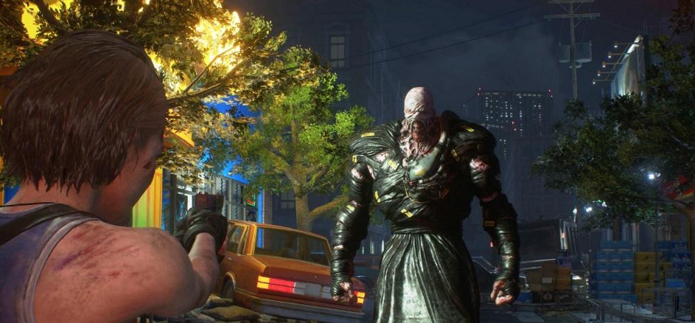 Cena do jogo RESIDENT EVIL 3: RACCOON CITY DEMO