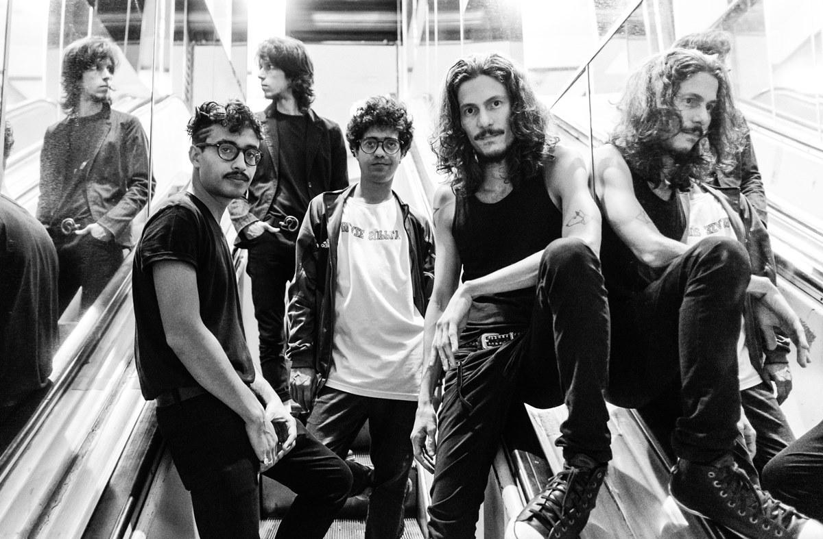 Foto da banda Vivendo do Ócio, 2020