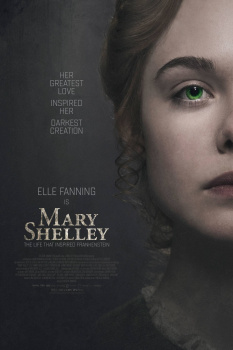 Mary Shelley, cartaz do filme